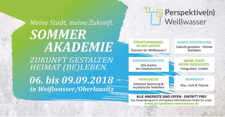 Einladung Sommerakademie 2018